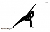 Crane Pose Yoga Silhouette Vector And Graphics