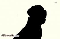 Bull Dog Silhouette