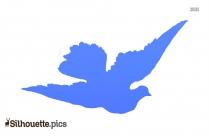 Eagle Landing Clipart Silhouette
