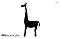 Giraffe Silhouette Printable