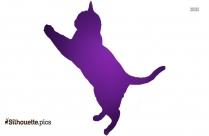 Wild Dog Silhouette Clipart Vector