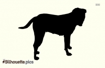 Cute Cartoon Dog Picture Silhouette