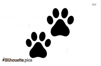 Paw Print Silhouette Png
