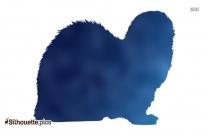 Blue Flower Vase Clip Art Silhouette