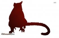 Hedgehog Silhouette Vector