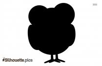 Penguin Silhouette Vector