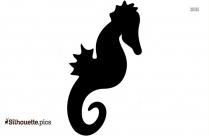 Simple Seahorse Silhouette