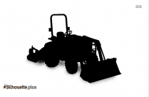 Tractor Clipart Silhouette Image