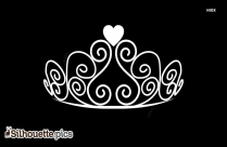 Silhouette Queen Crown