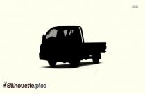 Silhouette Semi Truck Clipart