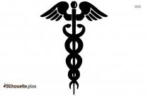 Silhouette Symbol Of Nurse