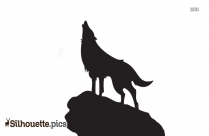 Kangaroo Silhouette Clip Art Image