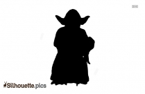 Cartoon Pony Silhouette