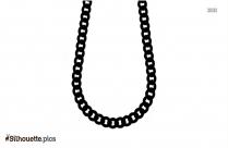Rhinestone Necklace Silhouette Clipart
