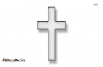 Free Filigree Cross Silhouette