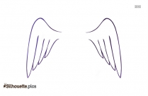 Wings Silhouette And Graphics