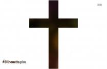 Cross Silhouette Clip Art