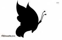 Butterfly Silhouette Image And Vector