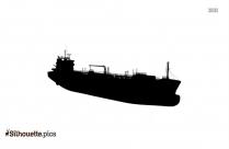 Cruise Big Boat Silhouette