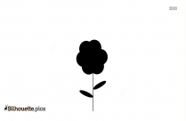 Drawing Of An Amaryllis Clip Art Silhouette
