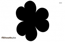 Simple Flower Silhouette Icon