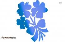 Dandelion Flowers Silhouette Image