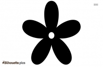 Flower Plant Silhouette Image And Vector