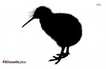 Kiwi Bird Silhouette Clip Art