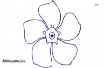Flower Clip Art, Silhouette