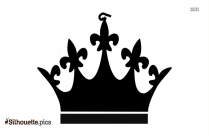 Free Queen Crown Silhouette
