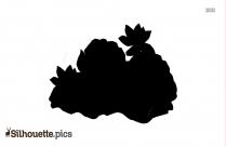 Vector Lotus Silhouette