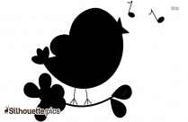 Cute Bird Silhouette