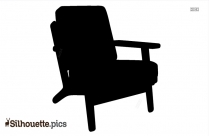 Single Chair Silhouette