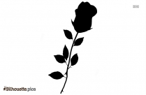 Rose Silhouette Background