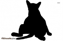 Cute Dog Silhouette Vector Free