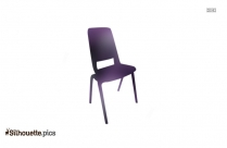 Rolling Chair Silhouette Clip Art