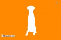 Dog Drawing Image Silhouette