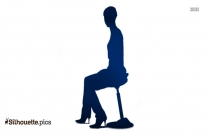Person Sitting Silhouette Clipart