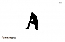 Sitting Cat Clipart Silhouette