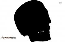Skeleton Skull Vector Clipart