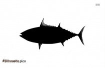 Caranx Clipart || Sea Animals Silhouette