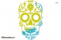 Skull Profile Vector Silhouette