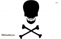 Skull Symbol Silhouette