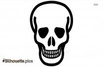 Skull Silhouette Clip Art