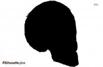 Pirate Skull And Crossbones Silhouette Clip Art