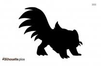 Skunk Pokemon Silhouette Vector And Graphics