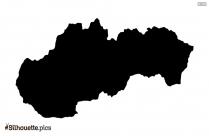 Singapore Map Silhouette