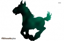 Running Horse Silhouette Clip Art Free