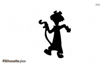 Snagglepuss Silhouette Clip Art