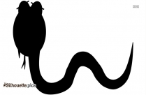 Snake Black And White Silhouette Clip Art